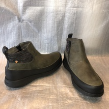 BOGS Green Waterproof Leather FREEDOM ANKLE Boot, Style#72413-020, Women... - $79.00
