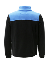 Men's Full Zip-Up Two Tone Solid Warm Polar Fleece Soft Collared Sweater Jacket image 12