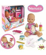 Nenuco Pain Of Throat Doll with Baby Set Accessories For Hacerle The Rev... - $228.73