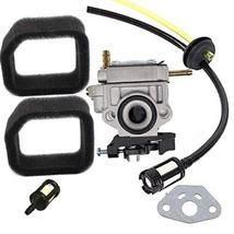 Shnile Carburetor Compatible With Ryobi RBCGM25BB RBCGM25SS RLTGM25CS RLT254FCDS - $17.20