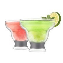 cool beer cups, Host Margarita Freeze Double-walled Cocktail cool pint g... - $955,77 MXN