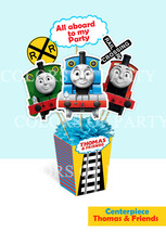 """PRINTABLE CENTERPIECE FOR PARTY """"THOMAS AND FRIENDS""""  - ₨734.61 INR"""