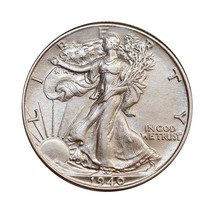 1940 P Walking Liberty Half Dollar - Choice BU / MS / UNC - $39.00