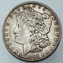 1892 $1 Morgan Dollar XF Condition, Natural Color, Nice Detail for Grade - $64.34