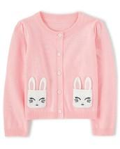 Gymboree Toddler Girls Bunny Rabbit Sweater Cardigan 18-24 Months NWT - $13.99