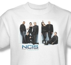 NCIS T-shirt Free Shipping CSI TV crime show 100% cotton white tee CBS494 image 1
