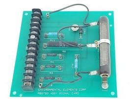 ENVIRONMENTAL ELEMENTS CORP. PB0793 ASSY SIGNAL CARD