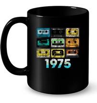 Retro Cassette Tape 43rd Birthday Ceramic Mug 44th 1975 - $13.99+