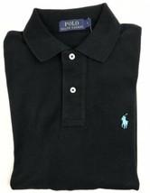 Ralph Lauren Mens Black Long Sleeve Polo Shirt Classic Fit Size Small - $54.83