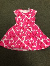 THE CHILDRENS PLACE Girls size Medium 7/8 HEART DRESS - $3.47
