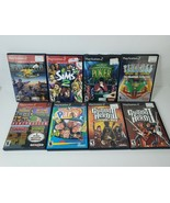 Lot 8 Playstation 2 PS2 Games - Sims 2, Namco Museum, Gottlieb Pinball, ... - $25.24
