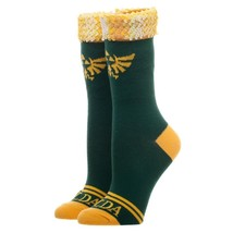The Legend Of Zelda Video Game Sequin Cuff Crew Socks - $12.00