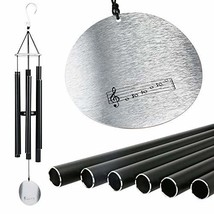 "Anewgift Large Metal Wind Chimes Outdoor- Tuned 42"" Garden Wood Wooden W... - $94.42"