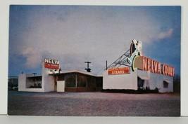 Meridan Mississippi NELVA RESTAURANT & COURT Harry Revell Postcard Q12 - $11.95