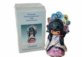 Goebel Hummel Figurine vtg Germany W Christmas ornament DeGrazia 1988 na... - $28.98