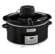 Crock-Pot SCCPVC600AS-B 6-Quart Digital Slow Cooker with iStir Stirring ... - $52.43