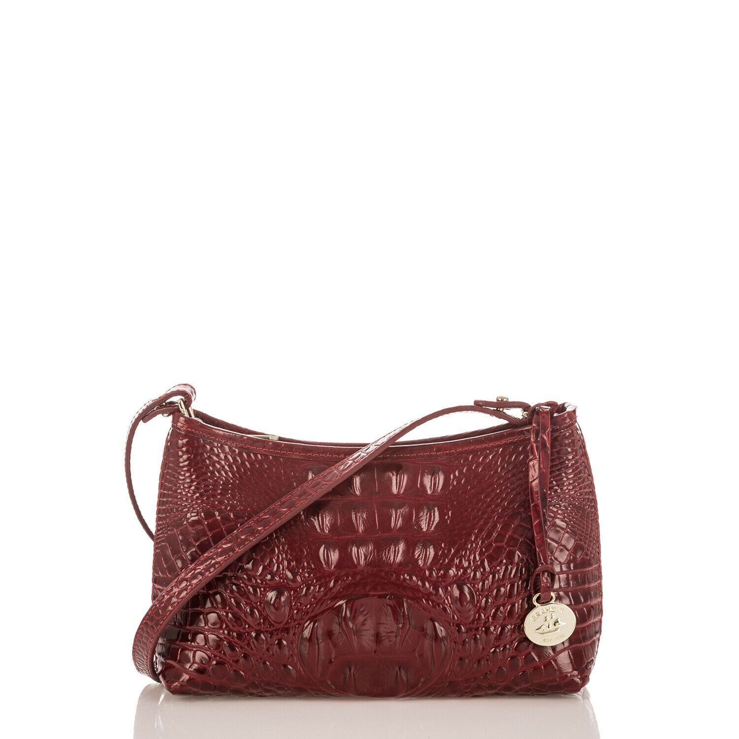 Primary image for NEW! Authentic! BRAHMIN Mini Anytime Shoulder Bag-Chianti Melbourne