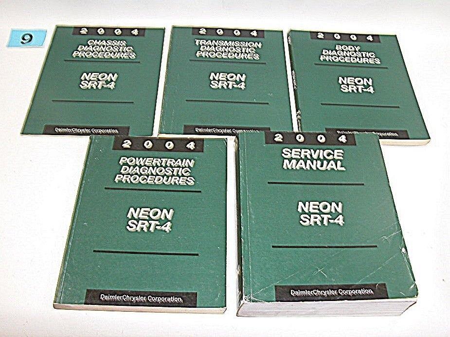 2004 dodge neon srt 4 service manual