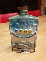 Vintage Jim Beam Whiskey Reno Decanter 100 Years Anniversary 1968 - $14.99