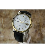 Mens Citizen Crystal Seven 37mm Day Date Automatic, c.1960s Vintage EE25 - $953.61