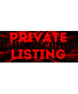 Private Listing for F. - $3,600.00