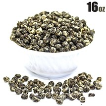 Tealyra - Imperial Jasmine Dragon Pearls - 16-Ounce - Green Tea Loose Leaf - Bes - $56.82