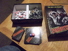 Rare Zombies Directors Cut Board Game Complete 2006 Twilight Creations RPG - $17.50