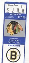 Boston @ Chicago Blackhawks Season Tktholder Ticket Stub! Bruins W4-2 Bo... - $5.04
