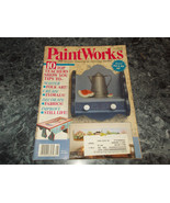 Paint Works Magazine August 1993 Create Floral - $2.99