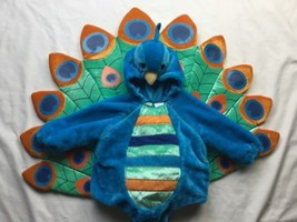 Babystyle infant baby peacock costume size 6-12 month, blue fleece, darl... - €24,84 EUR
