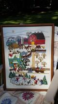 Handmade Christmas picture - $25.00