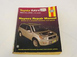 Toyota Rav4 1996-2002 all models Haynes Repair Manual teardown rebuild 9... - $39.59