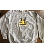 FAO Schwarz Collectible Sweatshirt Gray Crew Pullover Unisex Large Rare NWT - $47.49