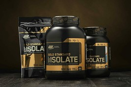 2X Optimum Nutrition Gold Standard 100% ISOLATE Whey Protein 12 Srv, 360... - $27.99