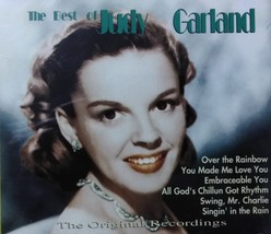 The Best of Judy Garland 2-Disc CD - $5.95