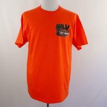 Harley Davidson I Rode The Dragon Smoky Mtn Graphic T Shirt Mens Sz L USA - $33.77