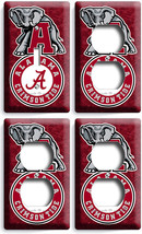 ALABAMA CRIMSON TIDE FOOTBALL TEAM 1 LIGHT SWITCH 3 OUTLET WALL PLATE RO... - $39.99