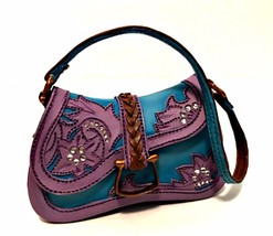 Just The Right Shoe Lone Star Purse 26411 Hand Numbered 14949 Raine Retired - $18.80