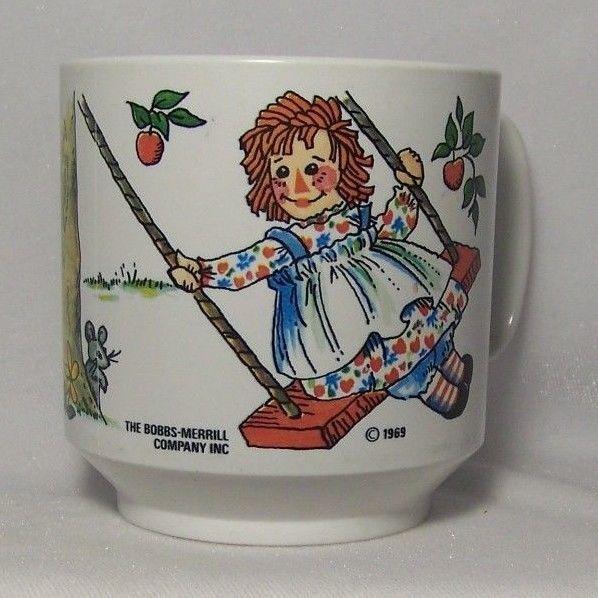 Vintage Raggedy Ann Plastic Cup Mug Bobbs and 50 similar items