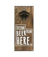 Beer Cap Traps Utah Wall Mount Magnetic Bottle Opener Beer Soda Pop Cap ... - $29.99