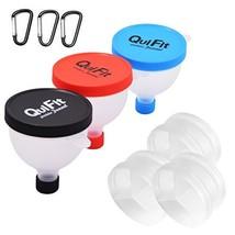 QuiFit Fill N Go Funnel Embudo de Polvo de Proteína -Píldora Caja-Caja d... - $19.18