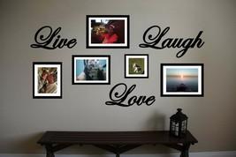 "Live Love Laugh Vinyl Wall Sticker Decal 22""w - $24.99"