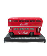 Coca-Cola London Double-Decker Bus Routemaster 1:60 Scale Red- BRAND NEW - $21.78