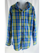 Boys Shirt Cat & Jack Little Boys Striped Long Sleeve Shirt XL 16 Multi - $4.94