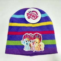 Hasbro My Little Pony Girls Beanie Cap One Size Multicolor  - $8.41