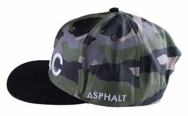 Asphalt Yacht Club Camo Green Black Hunt Snapback Baseball Hat AYC1410920 NWT image 5
