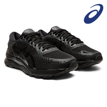 ASICS GEL-NIMBUS 21 Men's Running Shoes Black Fitness Outdoor 111910201-004 - $145.71