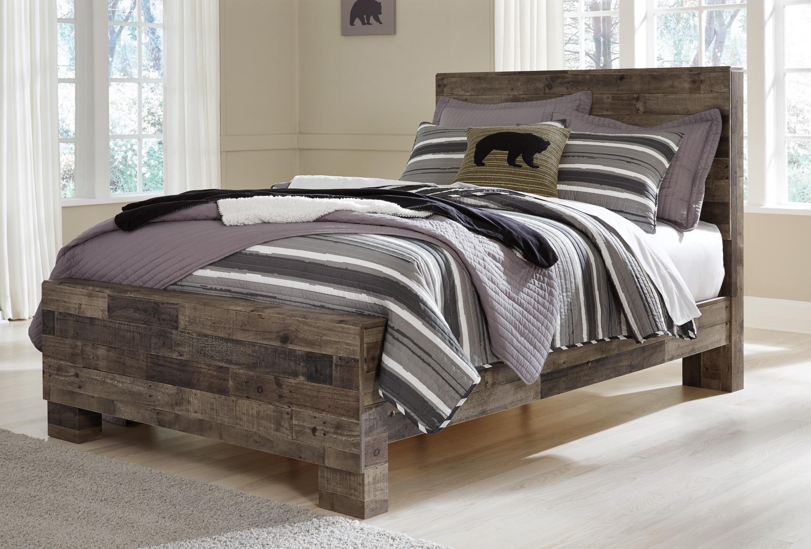 ashley derekson b200 full size panel bedroom set 5pcs in