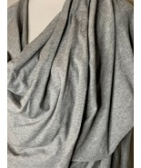 All Saints Womens Itat Shrug Top Solid Drapey Hi Lo Front Long Sleeve Gray Sz S - $34.95