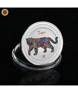 WR Year of the Tiger Chinese Zodiac Series 999 Silver Coin New Year Luck... - $4.39